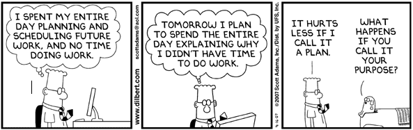 Dilbert Gets Things Done